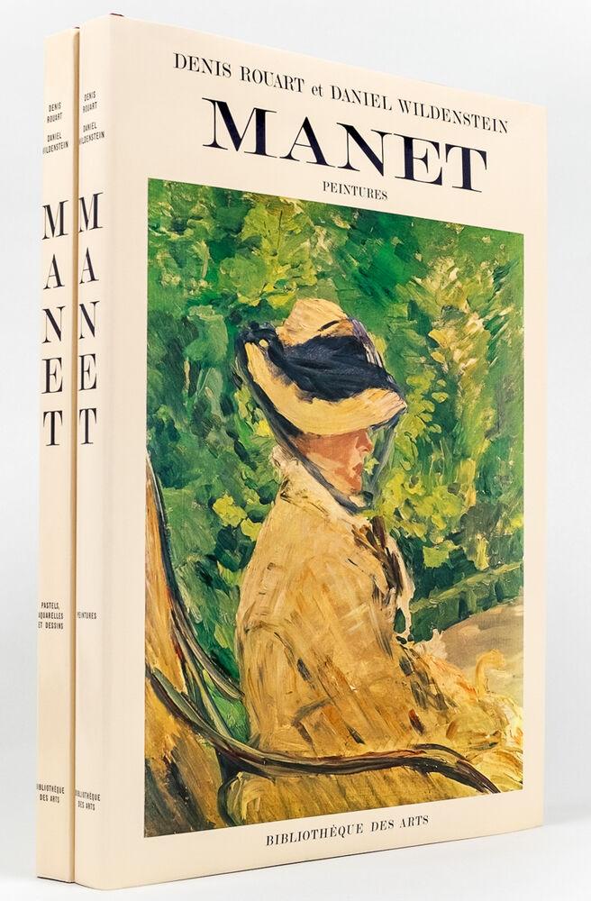 edouard manet catalogue raisonne 2 vols