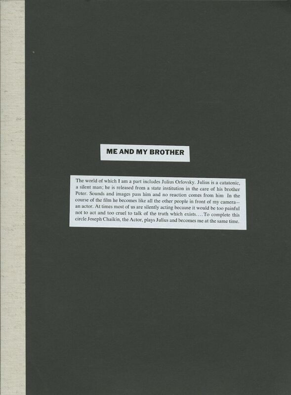 Robert Frank – Me and My Brother