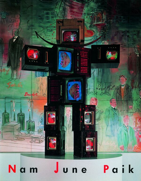 Nam June Paik – Video Time – Video Space