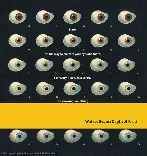 Walker Evans – Depth of Field