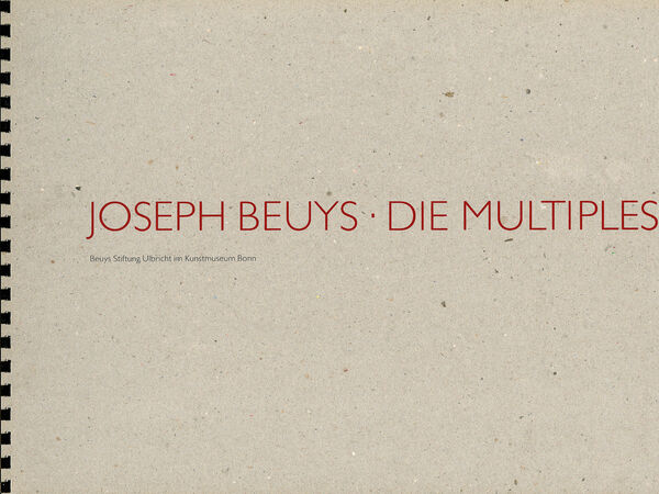 Joseph Beuys – Die Multiples