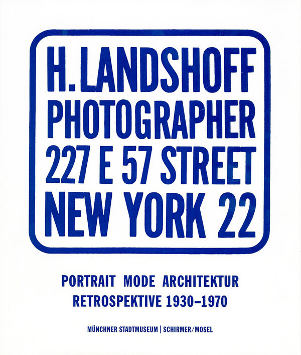 Hermann Landshoff – Portrait, Mode, Architektur