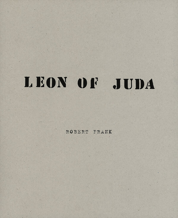 Robert Frank – Leon of Juda