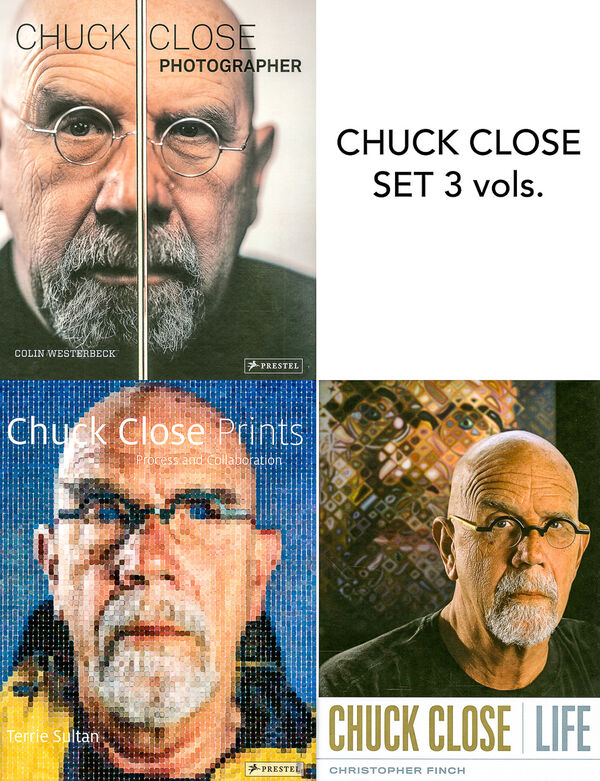Chuck Close – Set (3 vols.)
