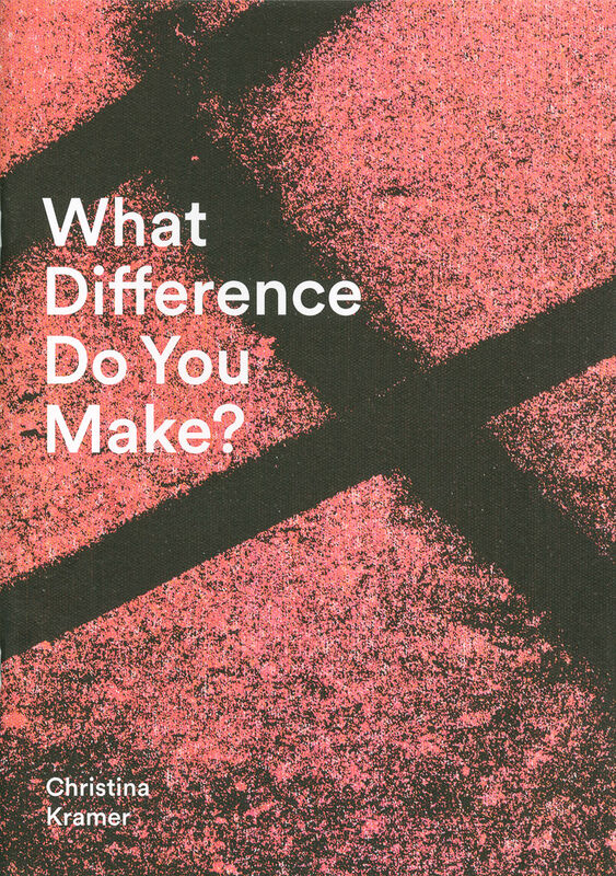 Christina Kramer – What Difference Do You Make?